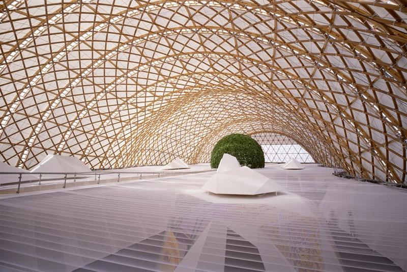 Pabellón de Japón EXPO 2000 HANNOVER - Alemania, 2000