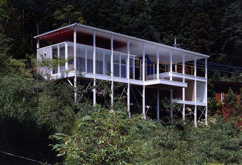 Double Roof House - Yamanashi, Japón, 1993