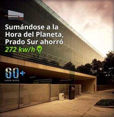 La Hora del Planeta en Prado Sur 250