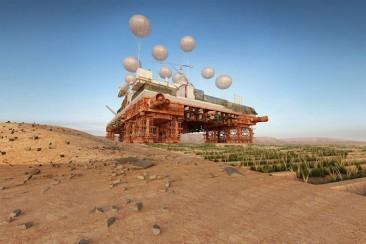 The Green Machine: un oasis móvil que enverdece el Sahara