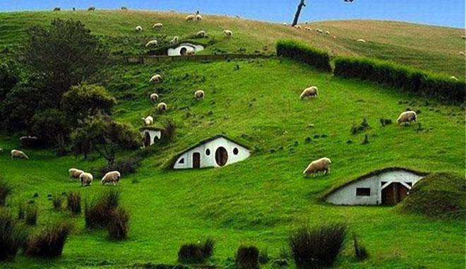 Casas ecológicas para vivir como Hobbits