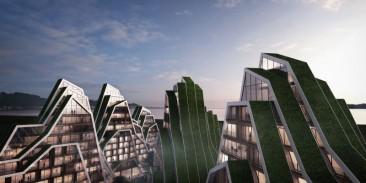 Hualien Residences, un proyecto 'montañoso' y sustentable