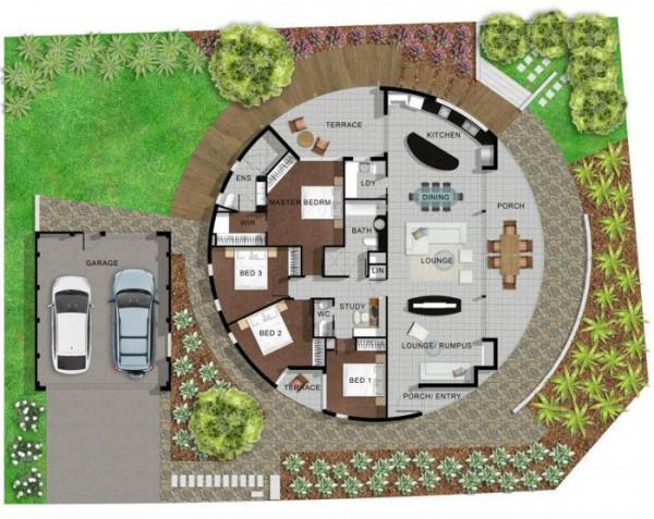 Girasole House, una casa giratoria