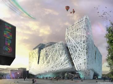 Expo Milán 2015: Pabellón de Italia devora smog