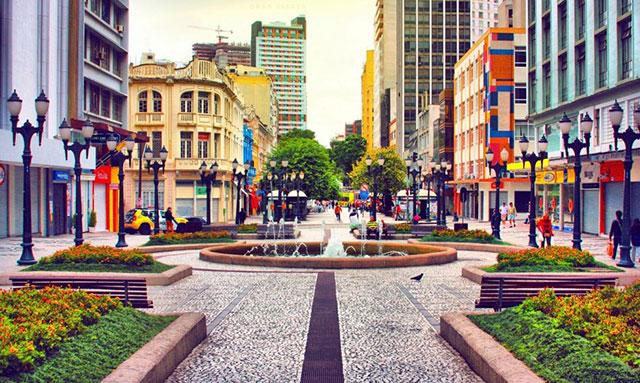 Curitiba, una ciudad verde y sustentable