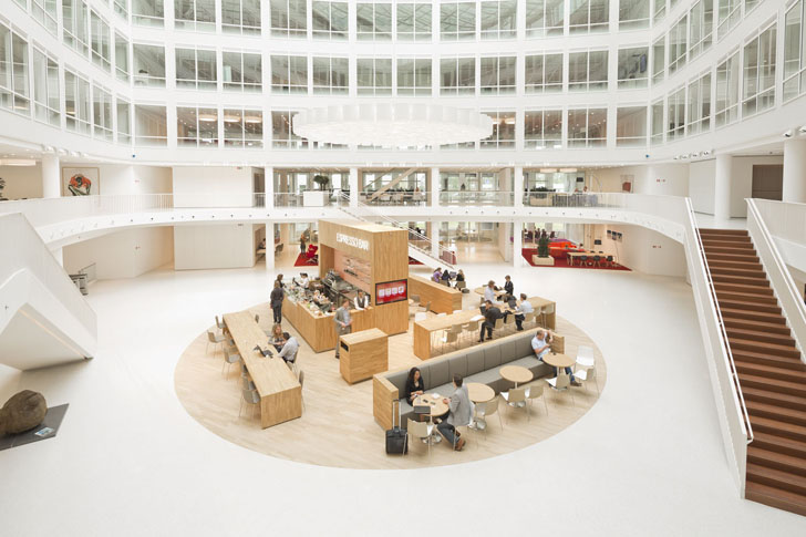 Oficinas sustentables en Rotterdam, Holanda