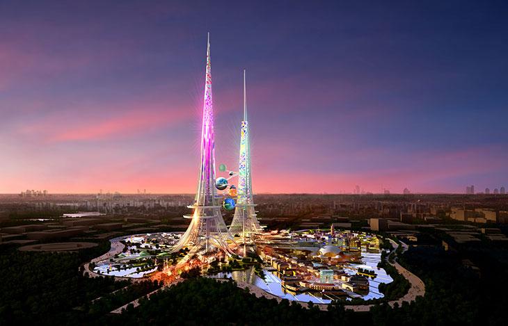 La torre más alta del mundo será sustentable
