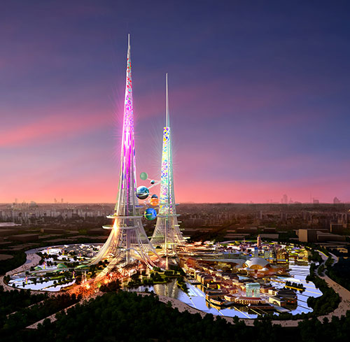 Las torres más altas del mundo serán sustentables