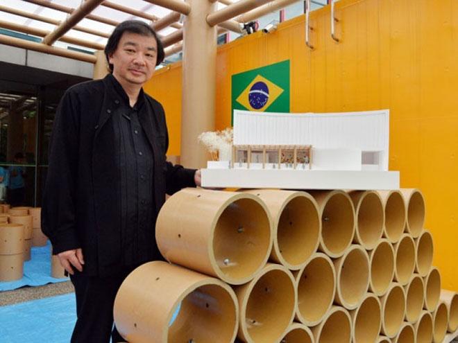 Shigeru Ban y el Mundial de Brasil