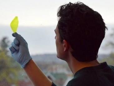La 1ra hoja sintética que puede crear oxígeno