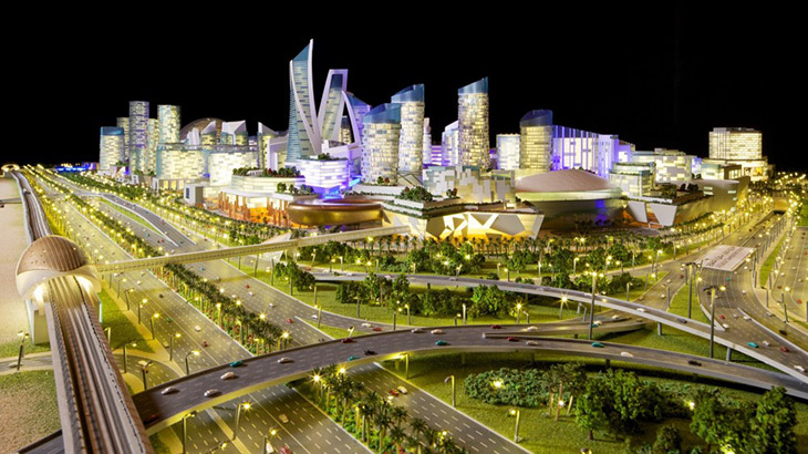 """Mall of the World"" en Dubai, la 1ra ciudad de temperatura controlada"