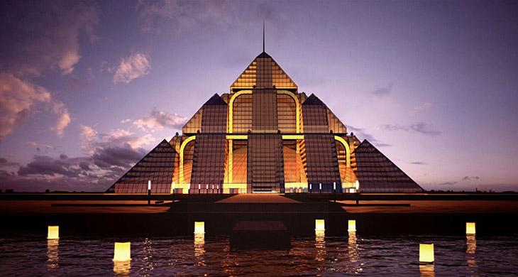 Ciudad pirámide sustentable en Dubai