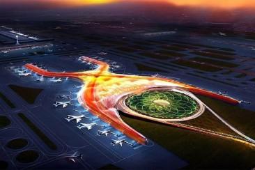 El lado verde del nuevo Aeropuerto de México