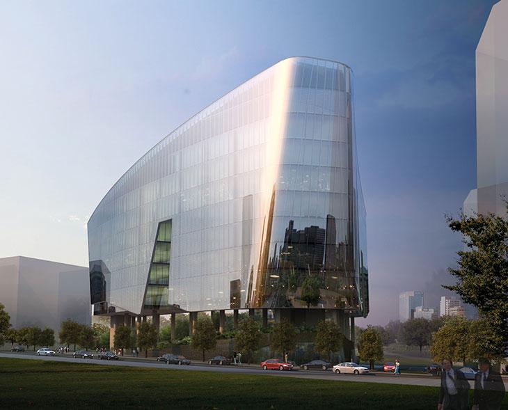 Sandcrawler Building, oficinas de LucasFilms inspiradas en Star Wars