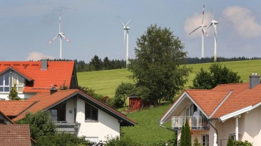 Un pequeño pueblo alemán que produce 6 veces más energía de la que consume