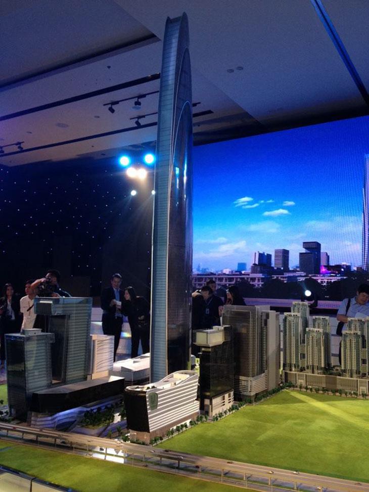 Un rascacielos sustentable de 615m para Bangkok