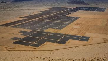 La planta de energía solar más grande del mundo ya está operando