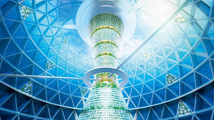 Ocean Spiral, una Atlantis para cinco mil personas