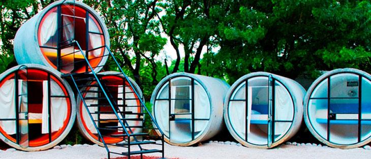 Tubo Hotel, una propuesta de reciclaje en la arquitectura