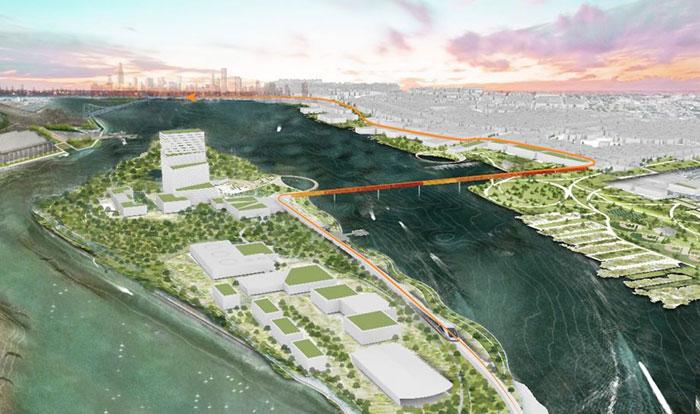 Proponen convertir una isla abandonada de Filadelfia en un banco de alimentos y centro de estudios sustentable